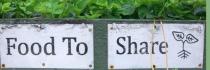 Légumes de ville en libre-service
