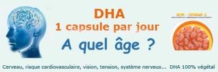 A partir de quel âge prendre du DHA ?